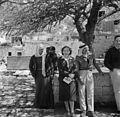 Israël 1948; Peki'in. Van de Polls vrouw Hildegard Eschen in Israël. 254-1927.jpg