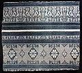 Italia, frammento di tovaglia in diamantina lanciata in lino e cotone, xv secolo.jpg