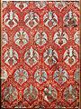 Italia (forse), velluto di seta con filo d'argento, XVII secolo.jpg