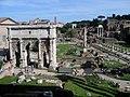 Italie Rome Capitole Tabularium Forum Arc Septime Severe 20042008 - panoramio.jpg