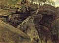 J.H. Maris - Landschap met rotsen, Fontainebleau - W331 - Cultural Heritage Agency of the Netherlands Art Collection.jpg