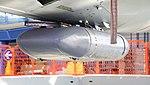 JASDF T-33A(71-5239) travel pod at Hamamatsu Air Base Publication Center November 24, 2014.jpg