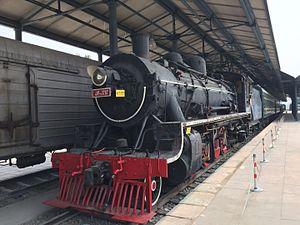 China Railways JF11 - JF11-3787 at Beijing Railway Museum.