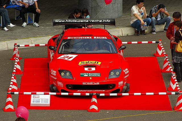JLMC Ferrari 550GTS