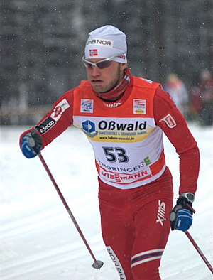 1984 in Norway - Martin Johnsrud Sundby in 2010