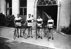 France at the 1920 Summer Olympics - The French team won gold in the men's team time trial