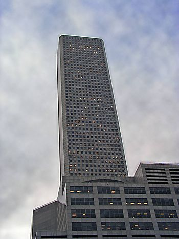 JPMorgan Chase Tower from base.jpg