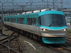 Kuroshio (train) - Image: JR west 283