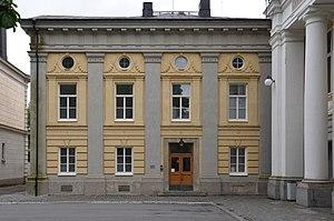 Johan Fredrik Åbom - Image: J F Åbom Gymnastikbyggnaden Västra fasaden