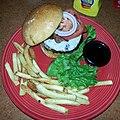 Jack Daniels burger, TGI Fridays (8559457847).jpg