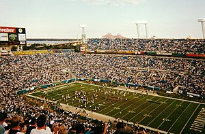 1999 Jacksonville Jaguars season - Week 17 against the Cincinnati Bengals.