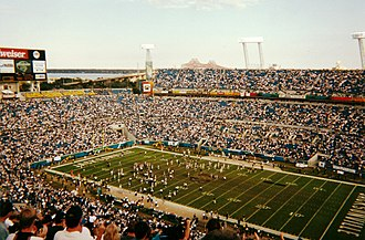 Jacksonville Jaguars - Jacksonville Jaguars vs. Cincinnati Bengals in January 2000.