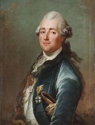 Jakob Björck - Image: Jakob Björk Porträtt av Jacob Johan Anckarström d.ä