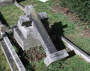 James Octavius Machell - The grave of James Octavus Machell (1837 – 1902) Newmarket, Suffolk, England