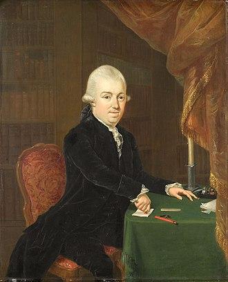 Jan Bernd Bicker - Jan Bernd Bicker in 1796, portrait by Louis-Bernard Coclers.