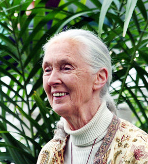 Grand Marshals of the Rose Parade - Image: Jane Goodall GM