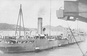 Notoro-class oiler - Image: Japanese oiler Erimo around 1938