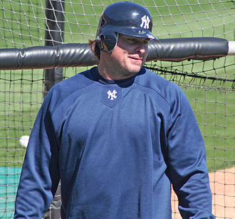 Jason Giambi - Giambi, as a member of the New York Yankees, during spring training in 2007