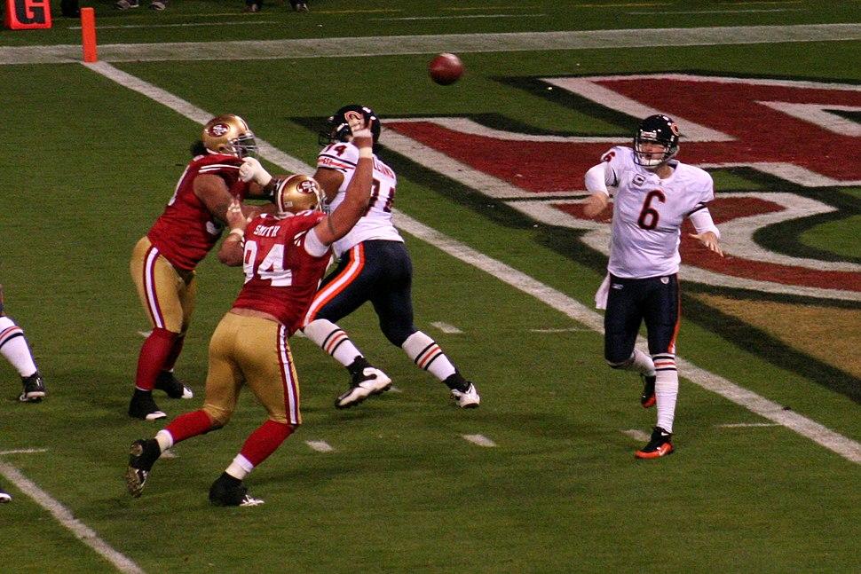 Jay Cutler vs 49ers