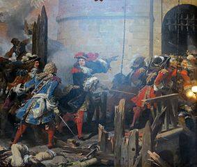 The storming of Valenciennes