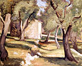 Jean Marchand, Paysage aves Oliviers.jpg