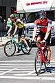 Jean Pierre Drucker of BMC before the start of Stage 2 in Modesto (34998726686).jpg