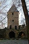 Resten van de 1e middeleeuwse stadsmuur; Jekertoren.