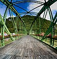 Jekleni most pri Radečah (Iron bridge on Sava river at Radeče; IG. GRIDL fabrik, 1894).jpg