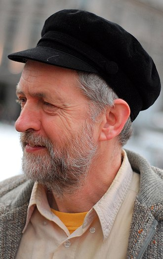 Greek fisherman's cap - Jeremy Corbyn wearing a black mariner cap