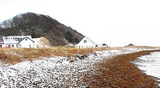 Jernhatten - Jernhatten, seen from the sea, winter