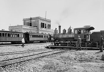Jerusalem Railway Station, 1900