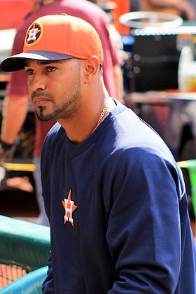 Jesus Guzman with the Astros in March 2014.jpg
