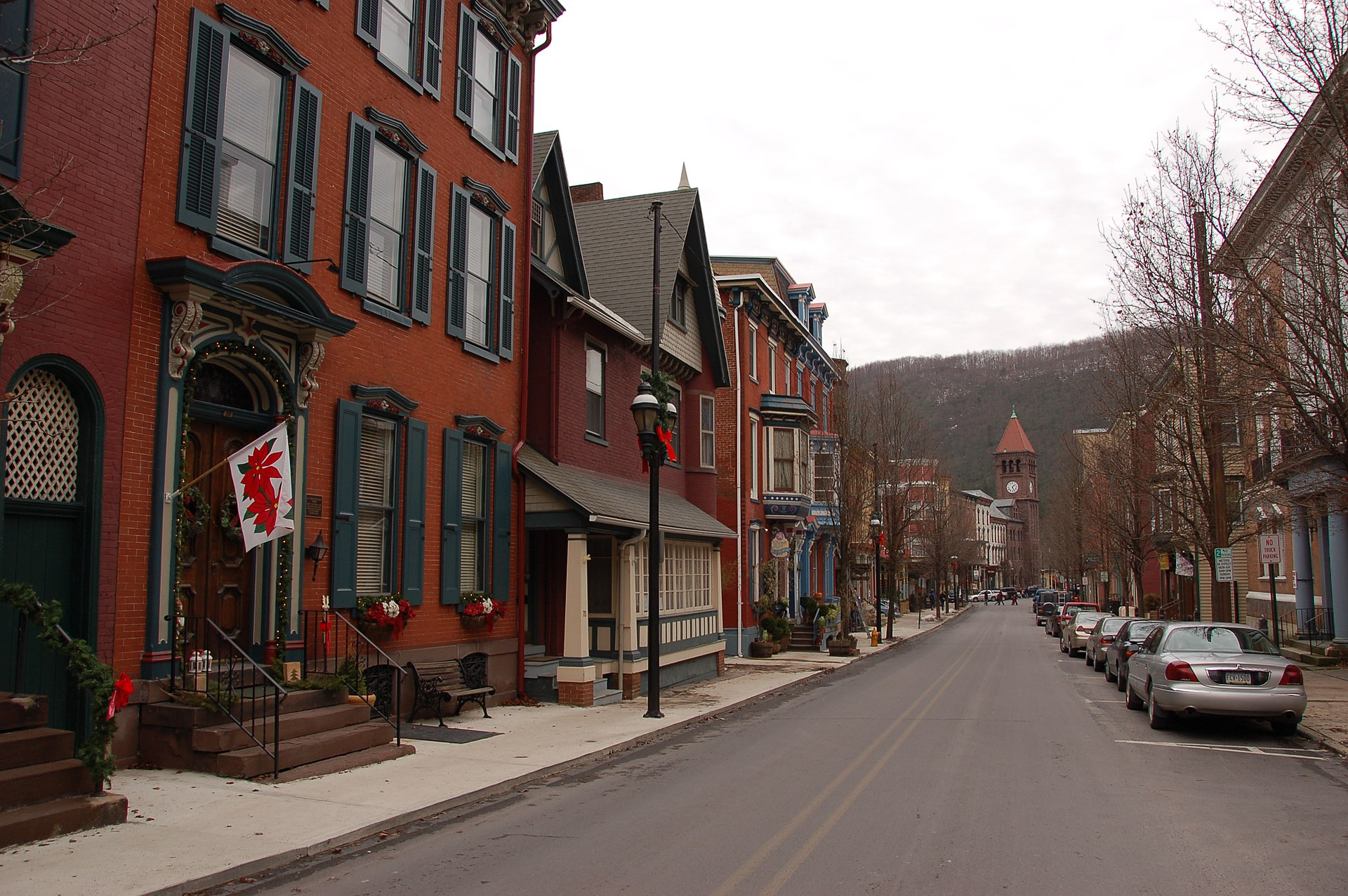 Old Mauch Chunk Historic District - Wikipedia