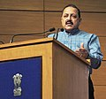 Jitendra Singh addressing a press conference on key initiatives taken by the Government and progress achieved during the last three years, in New Delhi.jpg