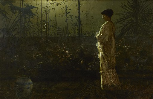 John Atkinson Grimshaw - Night vigil