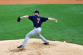 John Maine pitching for the Binghamton Mets.jpg