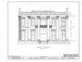John Murphy House, 22 Bibb Street, Montgomery, Montgomery County, AL HABS ALA,51-MONG,3- (sheet 2 of 3).png