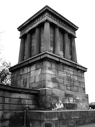 John Playfair - Monument to John Playfair on Calton Hill, Edinburgh