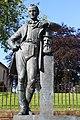 Johnnie Walker statue, Kilmarnock, Scotland.jpg