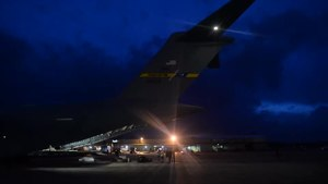 File:Joint Base Charleston prepares relief supplies for Hurricane Irma.webm