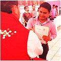 Jonathan Castro en la entrega de nombramiento como Subcoordinador del Movimiento PRI.mx Jalisco.JPG