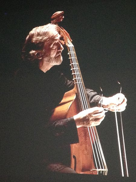 File:Jordi Savall with a viol.JPG