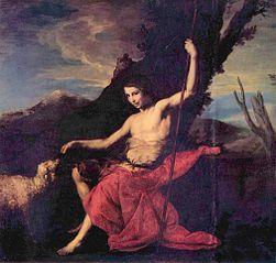 Saint Jean Baptiste dans le désert
