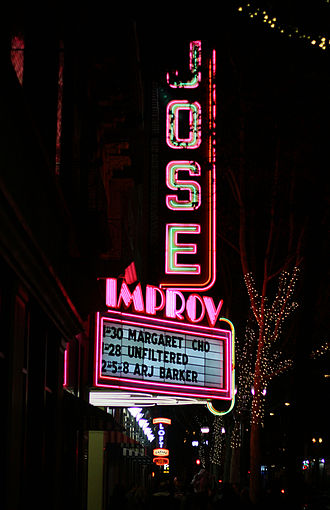 San Jose Improv - The San Jose Improv formerly known as the Jose Theater