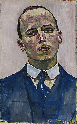 Josef Müller by Ferdinand Hodler (1853-1918)