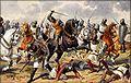 Josef Mathauser - Čechové před Milánem roku 1158.jpg