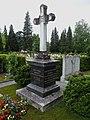 Josef Zingg-Blankart (1863–1953) SBB Präsident der Generaldirektion, Grab auf dem Friedhof Friedental, Feld 10.Stadt Luzern.jpg
