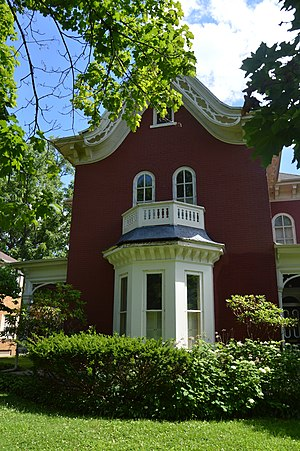 National Register of Historic Places listings in Lee County, Iowa - Image: Joseph Beck House, Fort Madison