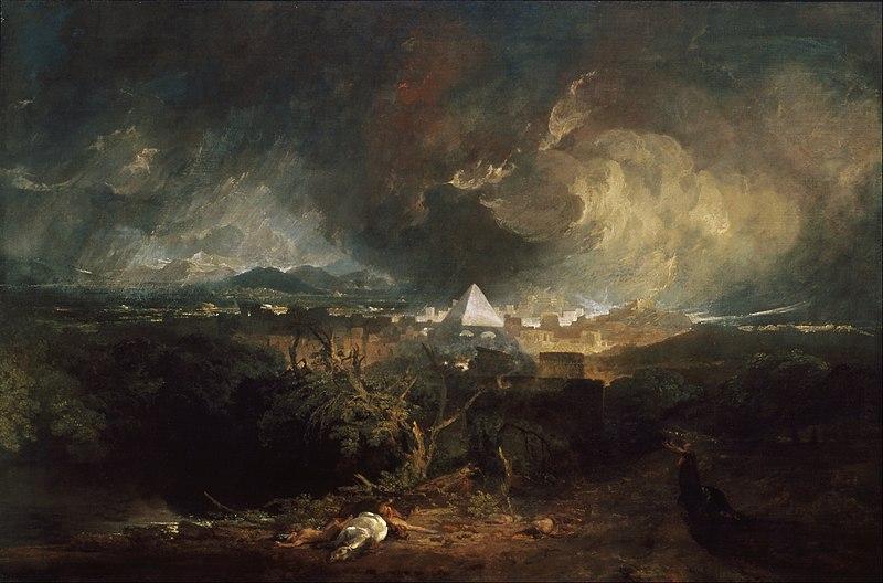 Turner la 5ème plaie d'Egypte