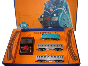 Jouef - The first Jouef electric train in HO scale, 1955.